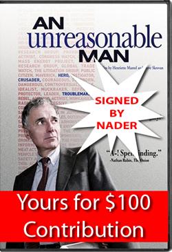 Get Autographed Unreasonable Man DVD Now .