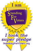 Standing Up for Voters logo